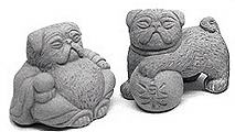 zen_mini_bonsai_pug_statues